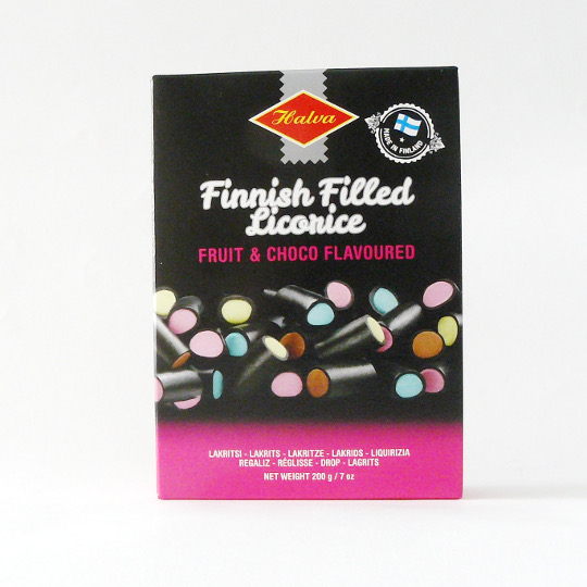 Finnisch mixed Licorice, 200g-Schachtel