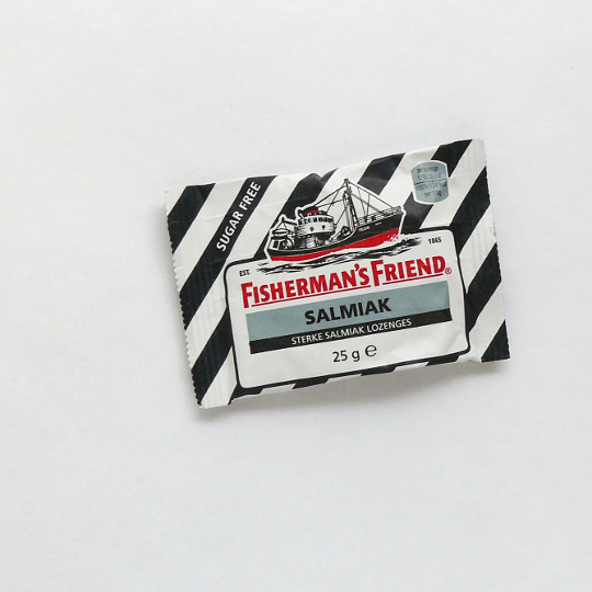 Fisherman's friend salmiak, 25g-Tüte