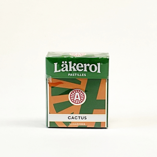 Läkerol cactus sugarfree, 25g-box