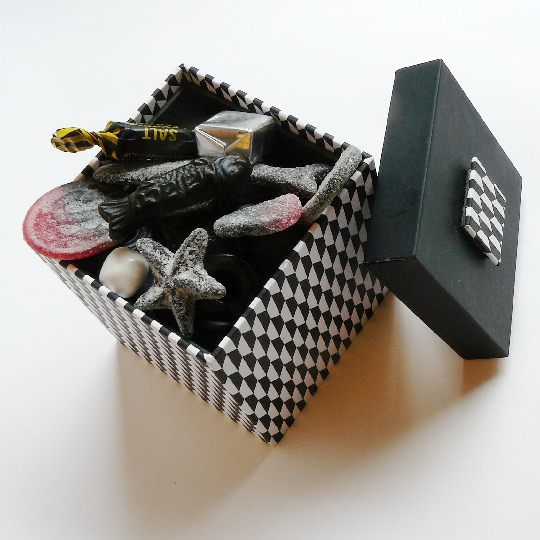 Rombus - Presentbox with 250g salty liquorice