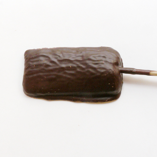 Schoko-Salmiak-Lolly, bitter 40g